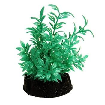 Planta Plastic Resun Bush Turcoaz 10 Cm