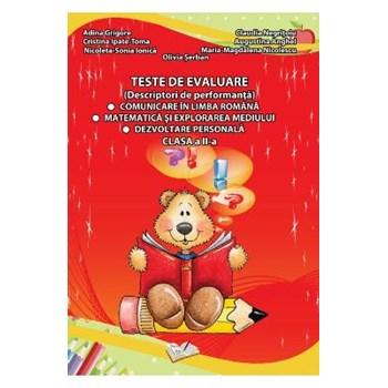 Teste de evaluare - Clasa 2 - Adina Grigore