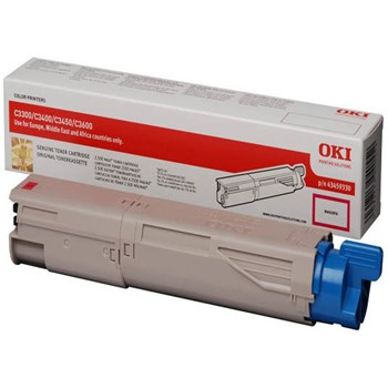 Toner laser OKI seria C33/34/3450/36 - Magenta, 2500 pagini