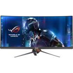 Monitor LED ASUS Gaming ROG Swift PG348Q Curbat 34 inch 5ms black-orange G-Sync 100Hz