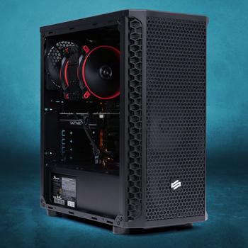 Sistem Workstation Pixel Paladin, AMD Ryzen 7 2700 3.2GHz, 16GB DDR4, 2TB HDD + 240GB SSD + 480GB SSD PCIE, RX 570 4GB GDDR5