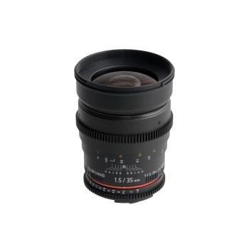 Samyang 35mm T1.5 Canon VDSLR
