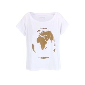 Tricou ZOOT Original alb de dama cu print