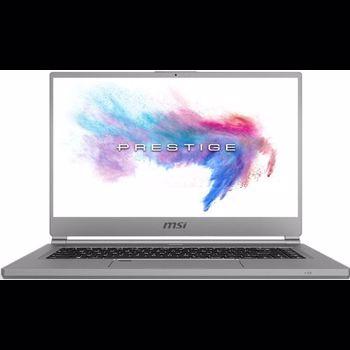 "Laptop MSI P65 Creator 9SE-1288XRO, 15.6"" 4K Thin Bezel, Intel Core i7-9750H 6-Core (2.60GHz, up to 4.50GHz, 12MB) + HM370, NVIDIA GeForce RTX2060 6GB GDDR6, 16GB DDR4 2666MHz, SSD 512GB NVMe PCIe Gen3x4 SSD, no ODD, Silver, Free DOS"