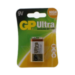 Baterie alcalina 9V 1 bucblister Ultra GP gp1604au-bl1