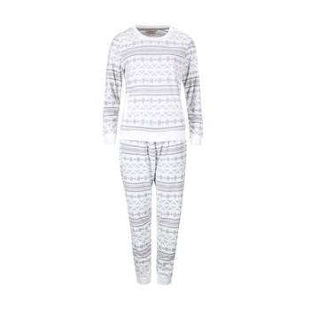 Pijamale gri cu crem si imprimeu nordic Dorothy Perkins