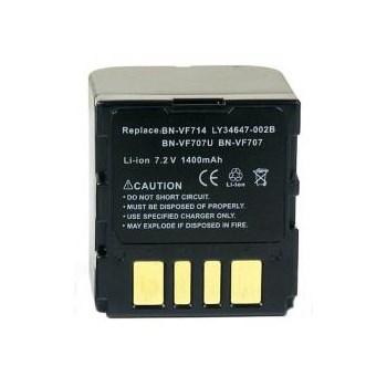 Acumulator Power3000 tip BN-VF714 pentru JVC 1400mAh