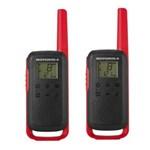 Statie radio Statie radio PMR portabila Motorola TALKABOUT T62 RED set cu 2 buc