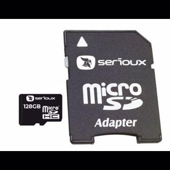 Card memorie Serioux MicroSD 128GB UHS-I + Adaptor CL10