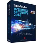 Bitdefender Internet Security 2016, 1 calculator, 1 an - licenta noua, retail (UB11031001)