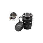 Cana termos, cu maner, obiectiv foto, pentru pasionatii de fotografie si cafea sau ceai (10 voturi ) 5 stele (10 voturi) 100% Complet