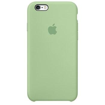 Husa originala din Silicon Verde Mint pentru APPLE iPhone 6s Plus