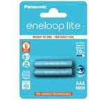 Acumulatori Panasonic Eneloop Lite R03 AAA 550mAh - 2 buc. blister bk-4lcce-2be