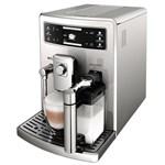 Espressor automat Saeco Xelsis Evo HD8954/09, 1500W, 15 bar, 1.6l, recipient lapte 0.5l, Argintiu