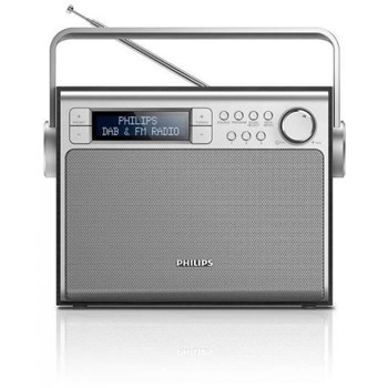 Radio portabil Philips AE5020B/12 FM Dab+ 3 W RMS Argintiu ae5020b/12
