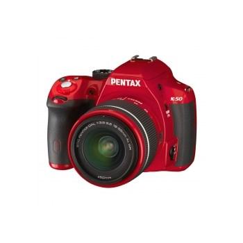 Pentax K-50  + SMC DAL 18-55 F3.5-5.6 WR rosu