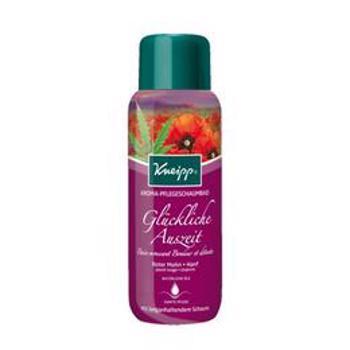 Spuma de baie cu mac rosu si canepa - Kneipp 400 ml