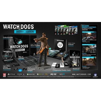 Watch Dogs DedSec Edition Xbox 360 ubi7040127