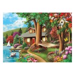 Puzzle Master Pieces - Around the Lake, 1.000 piese (Master-Pieces-71809)