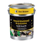 Amorsa bituminoasa, Den Braven Bit Grund S6, neagra, 19 kg