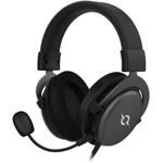 Casti Gaming AQIRYS Sirius, 7.1 surround, USB, 3.5mm, multiplatforma, negru