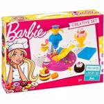 Jucarie de rol MEGA CREATIVE Barbie patiserie MC302661, 3 ani+, multicolor
