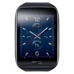 "Smartwatch Samsung Gear S R750, Procesor Dual-Core 1GHz, Ecran Super AMOLED 2"", 512MB RAM, 4GB Flash, Wi-Fi, 3G, Bluetooth v4.1, GPS (Negru)"