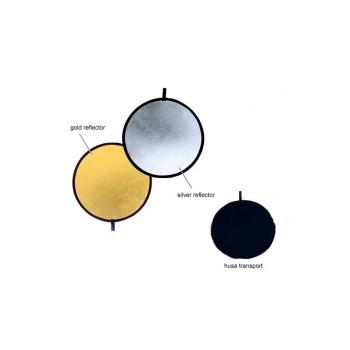 Fancier blenda 2in1, silver/gold, 80cm