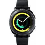 Samsung Gear Sport SM-R600 Smartwatch Fitness Tracker for Android and iOS, Black [International Version]