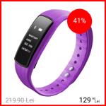 Bratara Fitness Easy Fit Touch Violet + Bratara Neagra