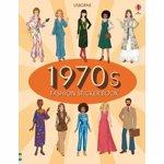 1970s Fashion Sticker Book, Paperback