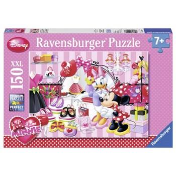 Puzzle Minnie Mouse, 150 piese, RAVENSBURGER Puzzle Copii