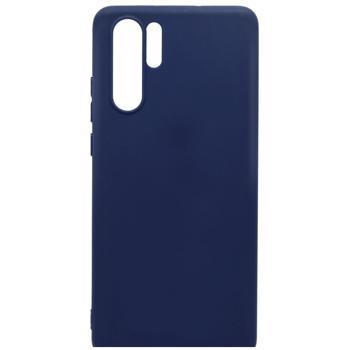 Husa Huawei P30 Pro Lemontti Silicon Silky Albastru Inchis