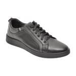 Pantofi OTTER negri, 871, din piele naturala