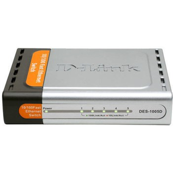 Switch D-Link DES-1005D