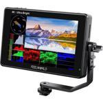 LUT7S 7 inch Touch Screen 2200nits Full HD 4k HDMI HDR/3D LUT 3G-SDI Pentru Camere DSLR Negru