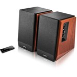 Edifier RMS: 66W (15W x 2, 18W x 2), volum, bass, treble, telecomanda wireless, bluetooth, dual RCA, black