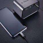 Cablu Type-C la Jack 3.5mm Baseus Yiven Black