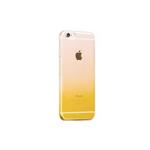 Husa TPU Gradient pentru iPhone 6 Plus / 6S Plus, Galben / Transparent