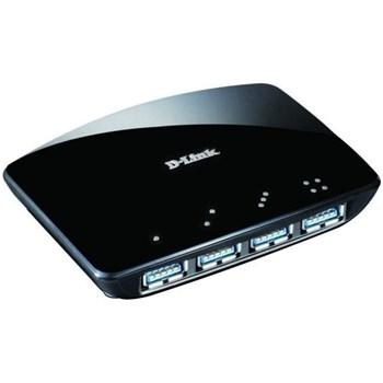 Hub USB D-Link DUB-1340, 4 porturi, USB 3.0