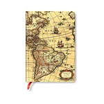 Paperblanks Western Hemisphere MIDI Lined: Hardcover (Early Cartography)