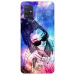 Husa Silicon Soft Upzz Print Samsung Galaxy A51 Model Universe Girl