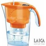 Cana de filtrare a apei Laica Stream Orange 2.25L jj31ac