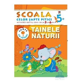 Tainele naturii 5-6 ani - Carte cu jocuri