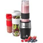 Mini Blender Concept SM-3385, 500 W, 23000 rpm, Smoothie, 2 recipiente 570 ml, 1 recipient 400 ml, Fara BPA, Negru