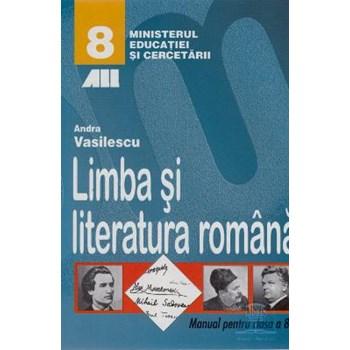 Limba Romana - Clasa 8 - Manual - Andra Vasilescu