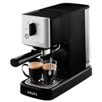 Espressor manual Krups Calvi XP3440 1460W 15 bar 1.1L Negru-Argintiu XP3440