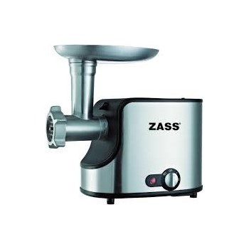 Masina de tocat Zass ZMG 06 1600W 1.4kgmin Functie revers Inox-Negru ZMG 06
