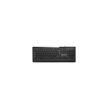 Tastatura Multimedia Delux 6010P, PS/2, Neagra