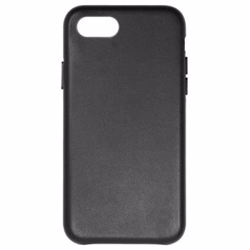 Carcasa Protectie Just Must Origin Leather iPhone 7 / 8 Black jmolciph8bk